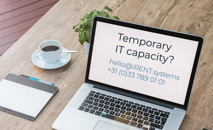 Temporary IT capacity and working from home